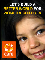 CARE: Let's build a better world for women and children