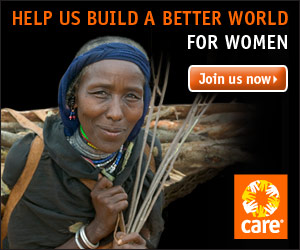 CARE: Help us build a better world for women
