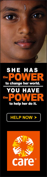 CARE: She has the power to change her world. You have the power to help her do it.