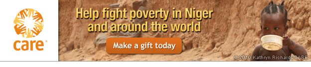 CARE - Help fight poverty in Niger and around the world -- Make a gift today
