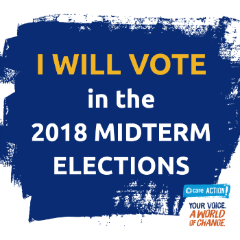 I will vote in the 2018 midterm elections!